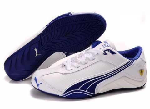 Basket Puma Homme Blanche