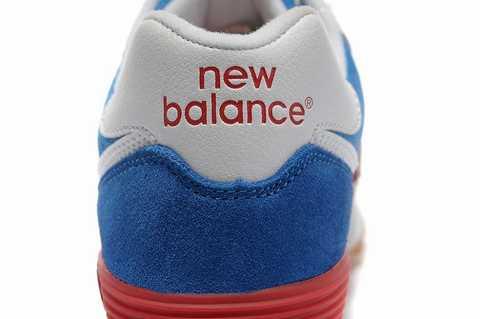 basket new balance femme marron