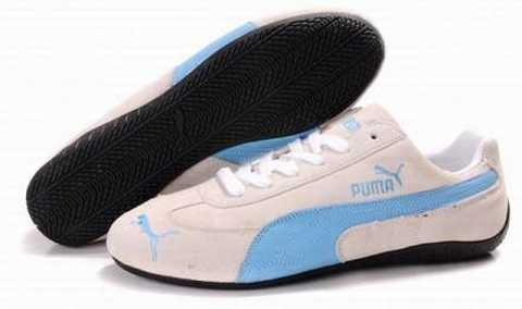 puma blanche femme intersport